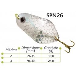 Lingurite oscilante Baracuda SPN 26