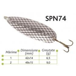 Lingurite oscilante Baracuda SPN 74