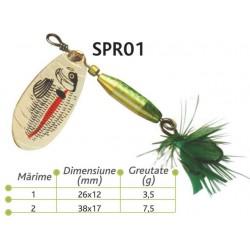 Lingurite rotative Baracuda SPR 01