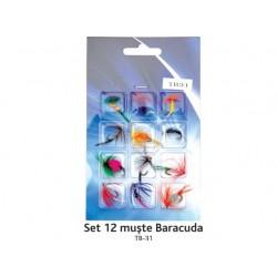 Set 12 muste Baracuda TB-31