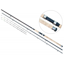 Lanseta fibra de carbon Baracuda Hurricane Feeder 3903