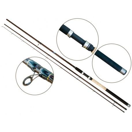 Lanseta fibra de carbon Baracuda Match Arlequin 3903