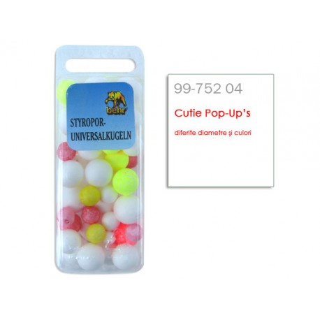 Cutie Pop-Up's diferite diametre si culori