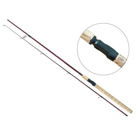 Lanseta fibra de carbon Baracuda Danube Spin 2,7m
