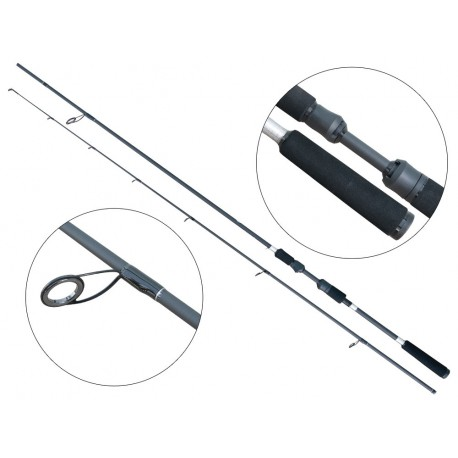 Lanseta fibra de carbon Baracuda Black Pearl 2 265