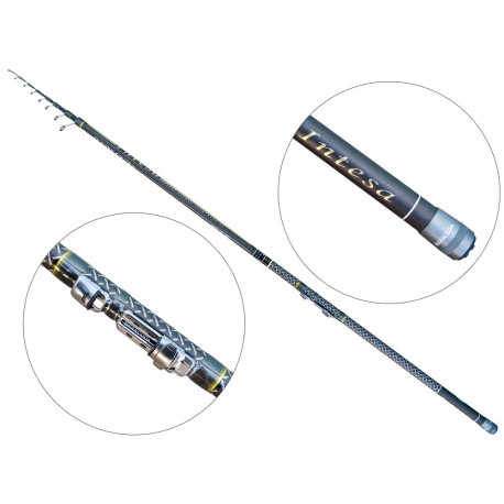 Lanseta fibra de carbon Baracuda Intesa 5005