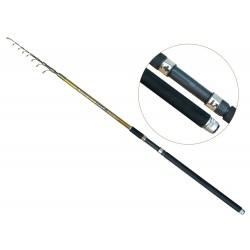 Lanseta fibra de carbon Baracuda Focus 4004