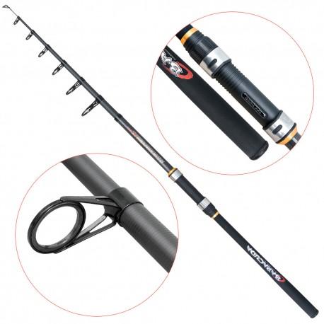 Lanseta fibra de carbon Baracuda Avangard Tele 300