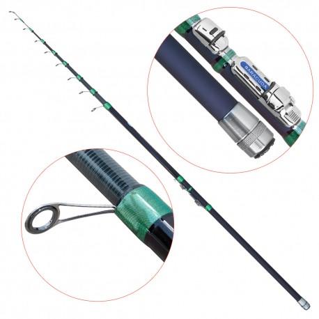 Lanseta fibra de carbon Baracuda Furioso Tele Match 4208
