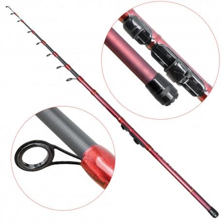 Lanseta fibra de carbon Baracuda Sniper 300