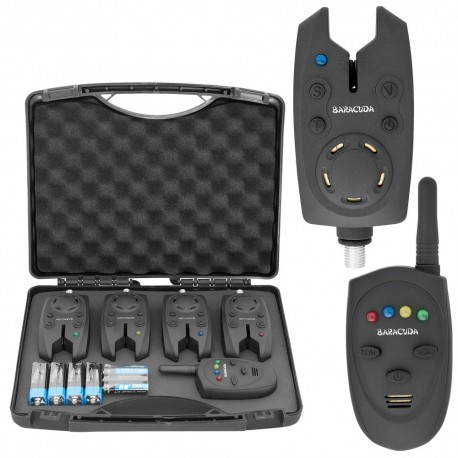 Set 4 avertizoare wireless HX-4000A + receptor