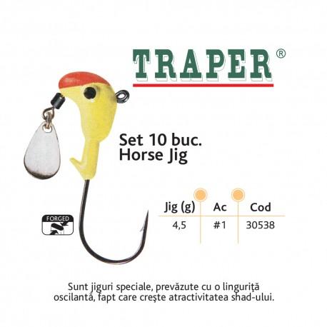 Set 10 buc. Horse Jig