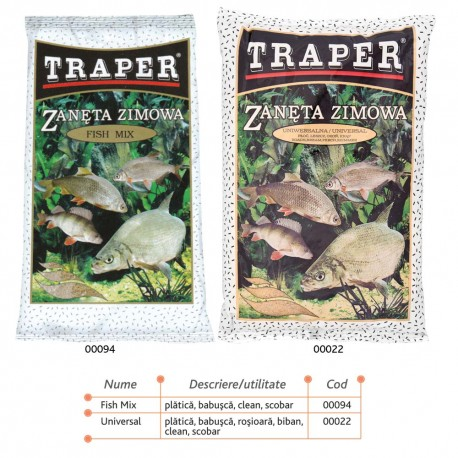Nada pentru pescuit pe timp de iarna Traper 750g